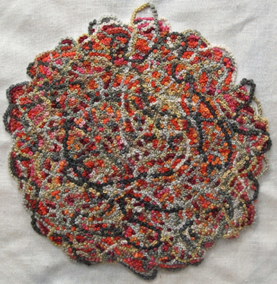 4500 French knots